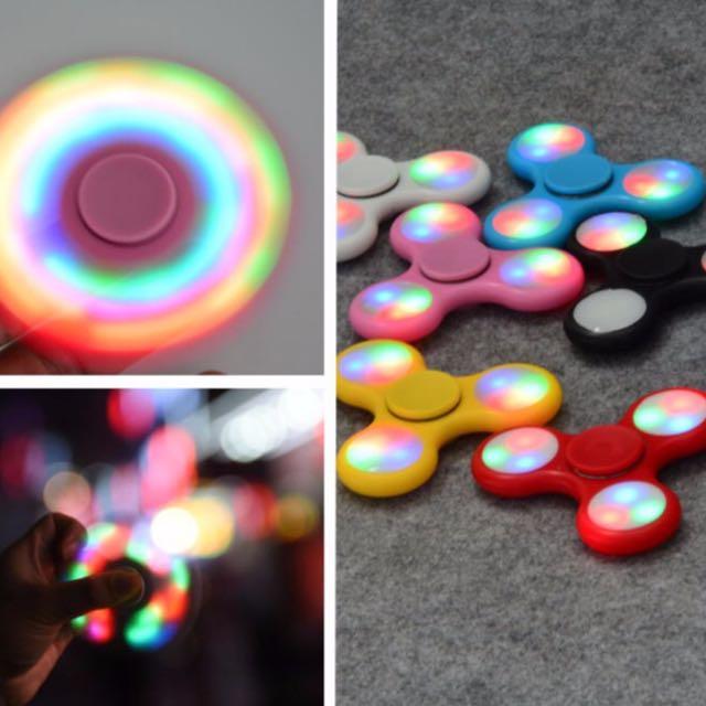 LED Lights Spinner