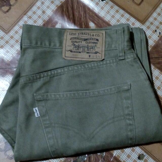 Levis 551 Vintage Pants (Authentic)