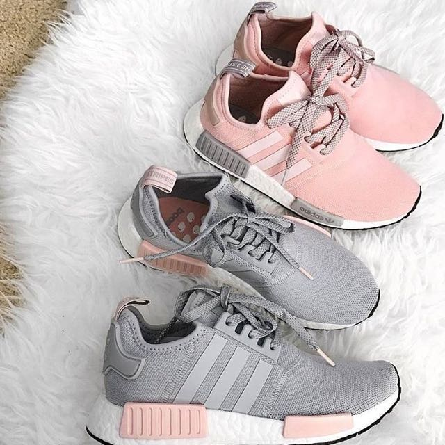 ultimo paio] fede adidas nmd r1 pastello rosa / onix arrossire vapore