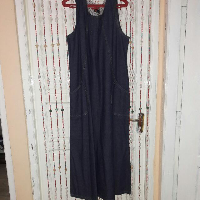 LONG DRESS JEANS ( ALLSIZE )