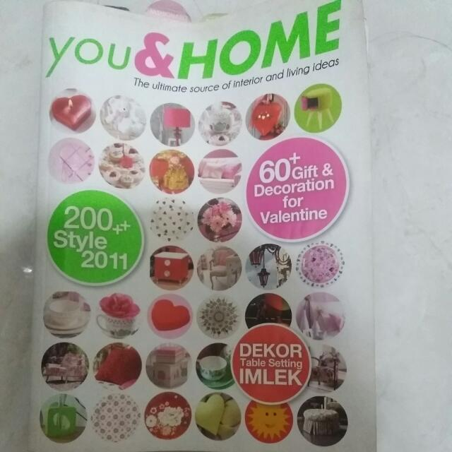 Majalah Decor You And Home