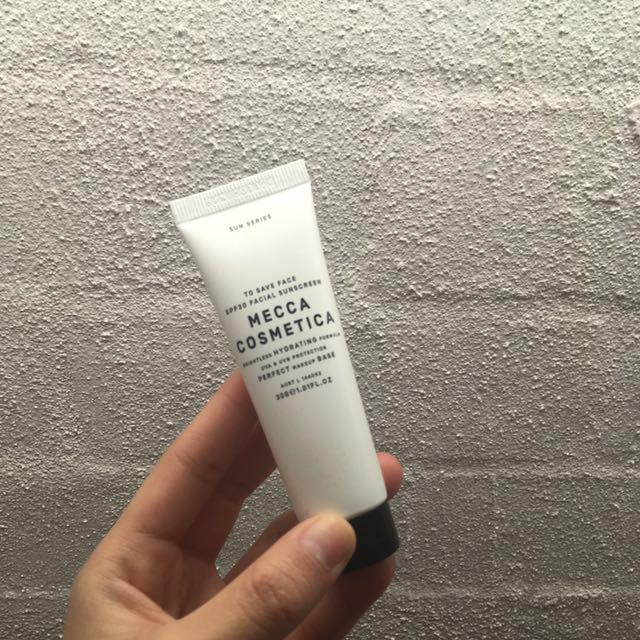 Mecca Cosmetica SPF30 Facial Sunscreen