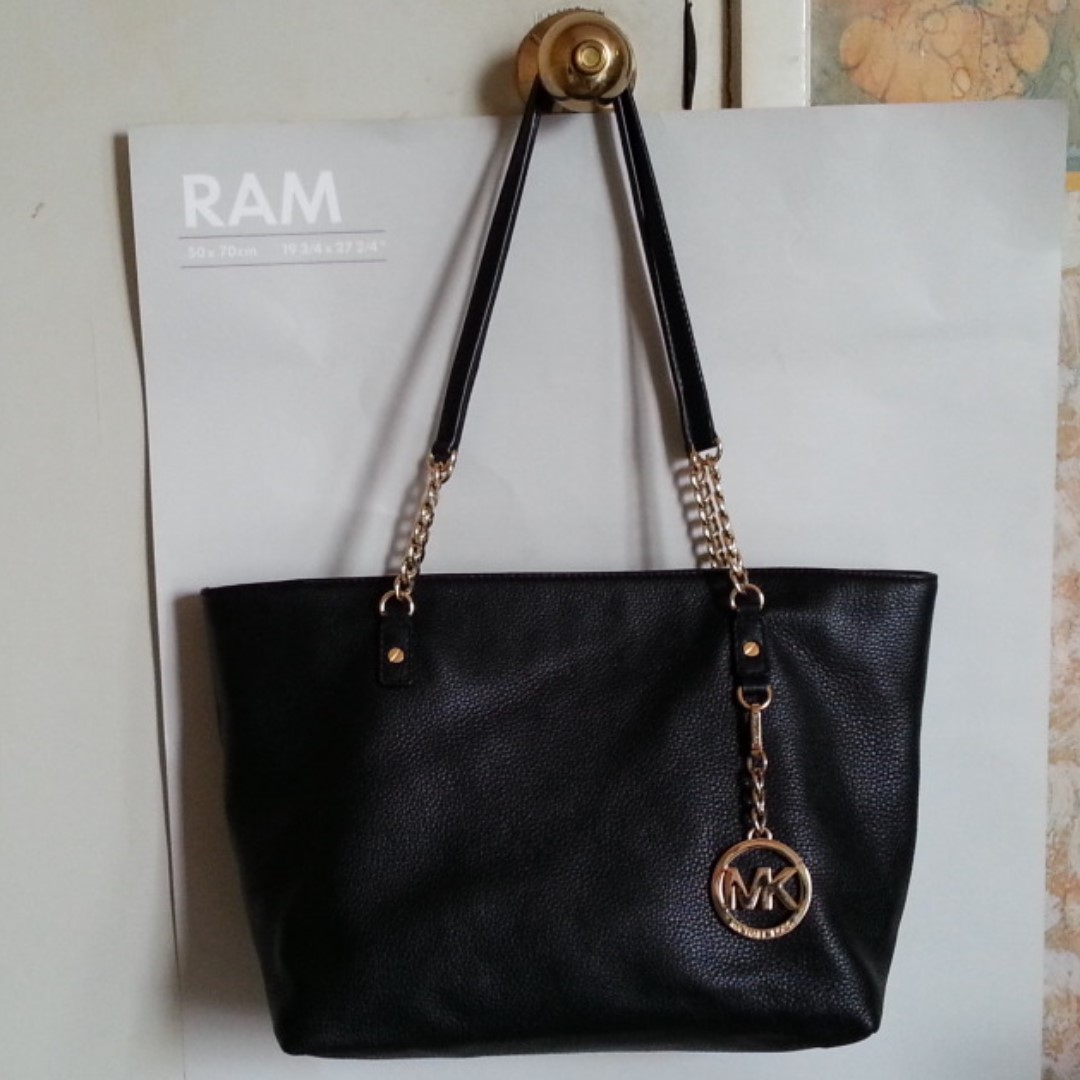 Michael Kors Leather Chain Tote