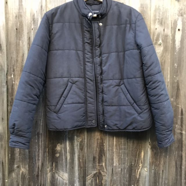 🚈Navy Blue Witchery Puffer Jacket🚈