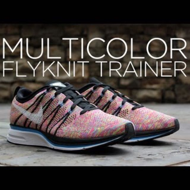 Nike Flyknit Trainer Multicolor
