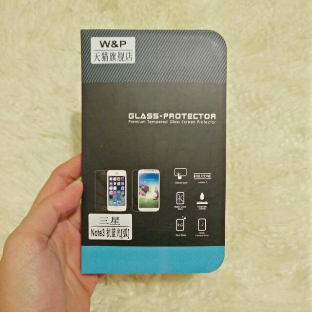 Note 3 Glass Screen Protector