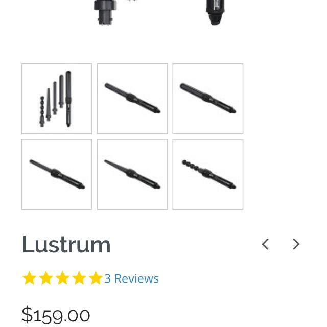 NuMe Lustrum Curling Wand Set