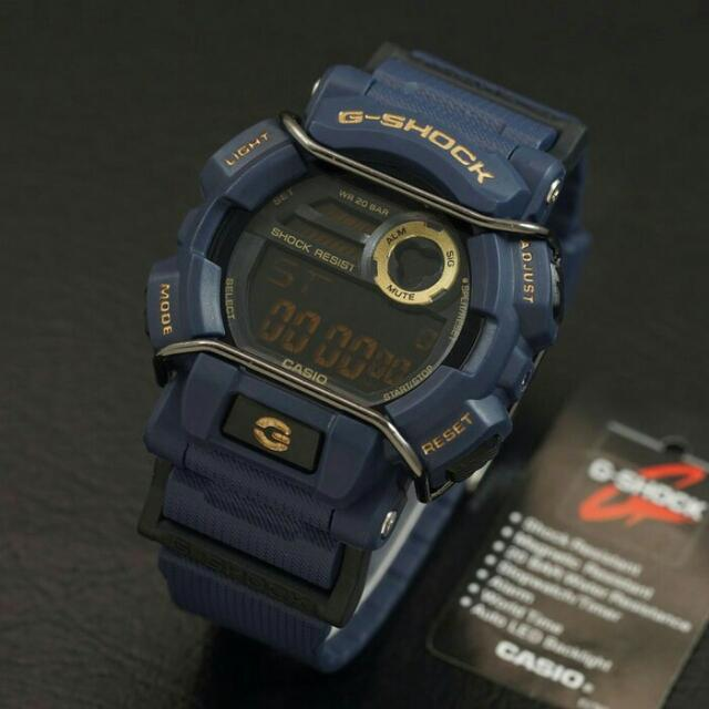 PALING LAKU..!! JAM TANGAN CASIO GSHOCK G-SHOCK GD-400 FULL BIRU BEST SELLER