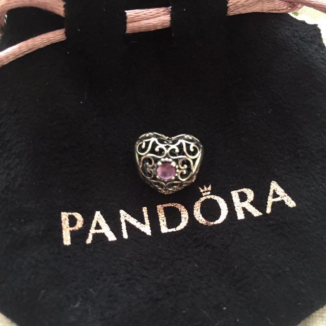 Pandora Love Heart Charm