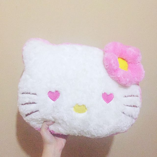 PinkKitty Big Pillow