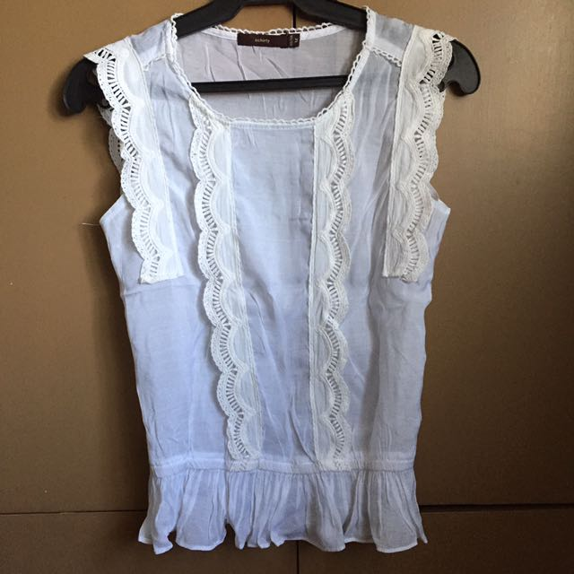 PL white Sleeveless