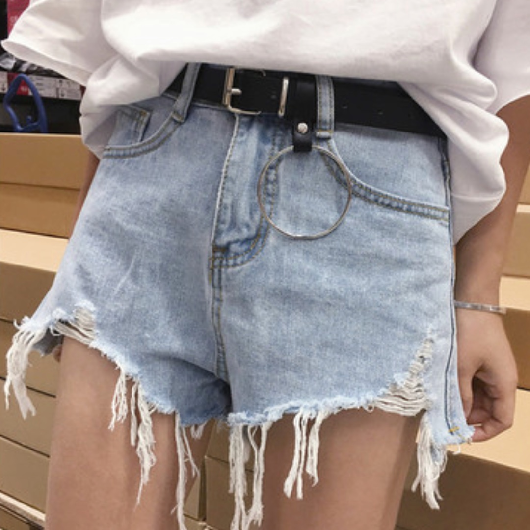 Waisted High shorts outfits tumblr