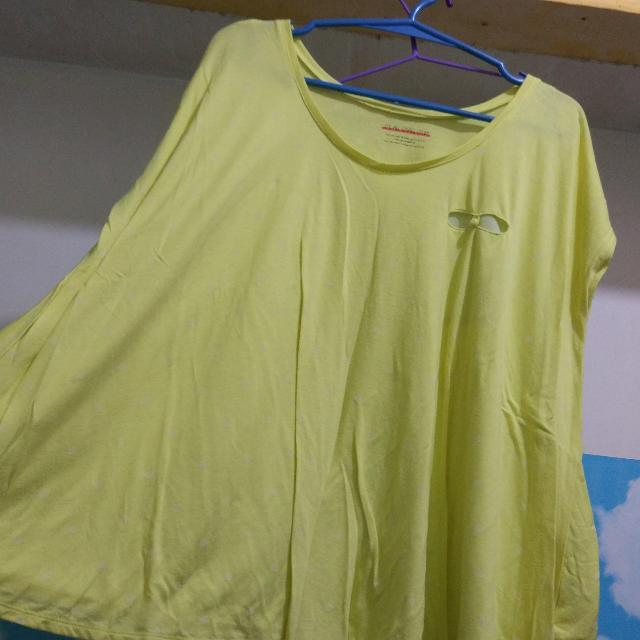 polkadot loose blouse