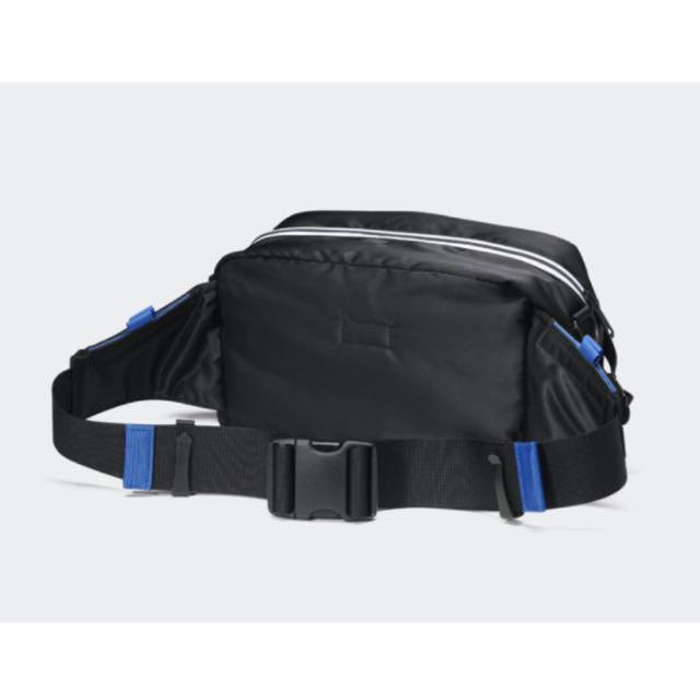 Porter x Adidas Arno 2 camino cintura / Bolsa de hombro, moda hombre, bolsos