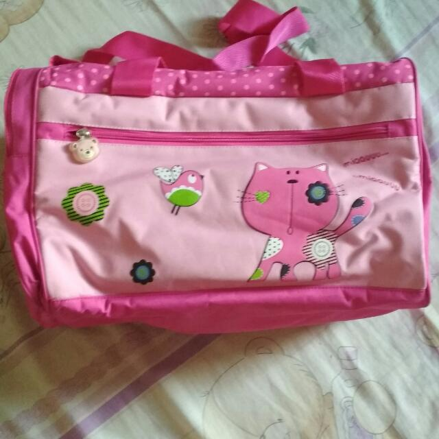 Preloved Diaper Bag Pink