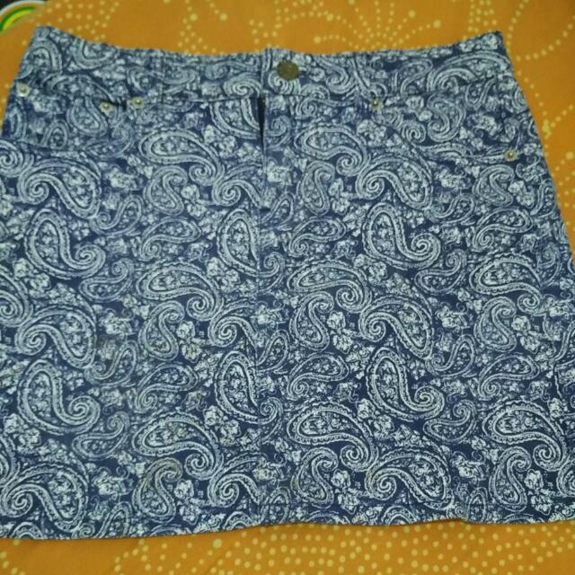 Preloved Skirt Jeans