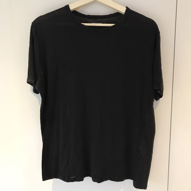 Reformation Oversized Black T-Shirt