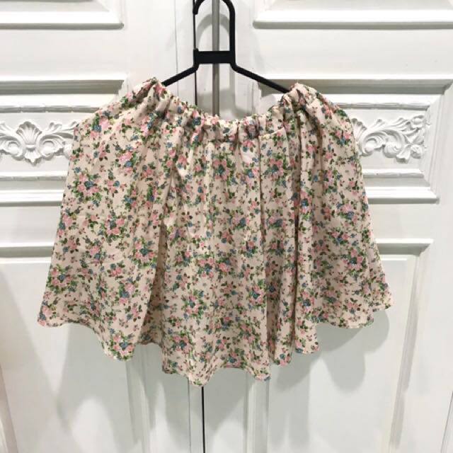Reprice!!! Floral Skirt