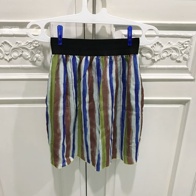 Reprice!! Stripe Skirts