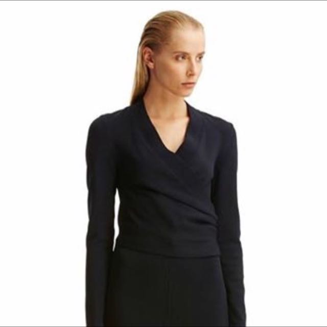 Scanlan Theodore Wrap Top Small