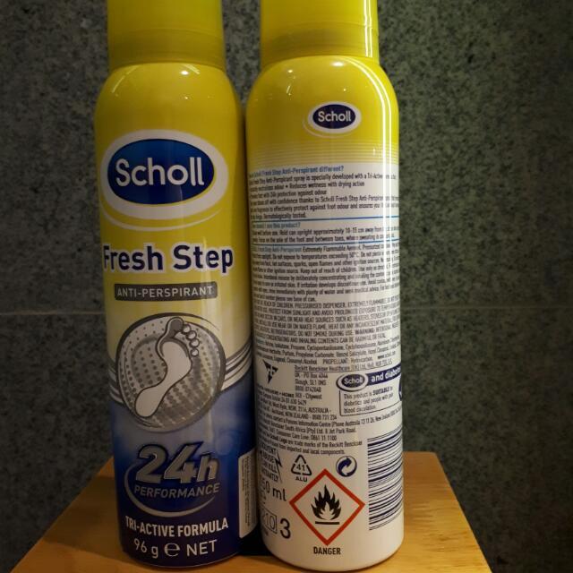 Scholl Foot Spray