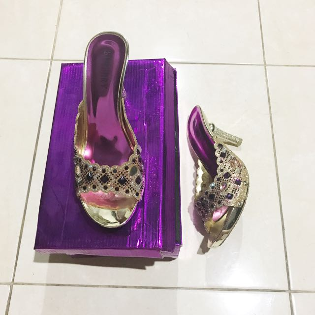 Selop Pesta - Size 39 ( Fit To 38)
