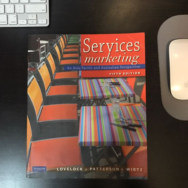 Services Marketing - An Asia-Pacific and Australian Perspective