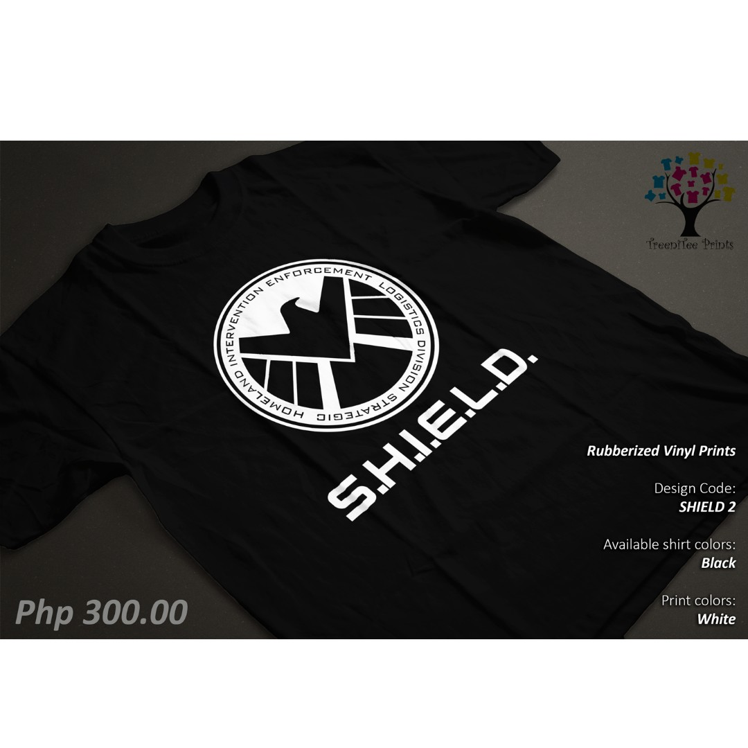 Shield Marvel Avengers Logo Unisex Graphic Shirt/Tshirt/Tee
