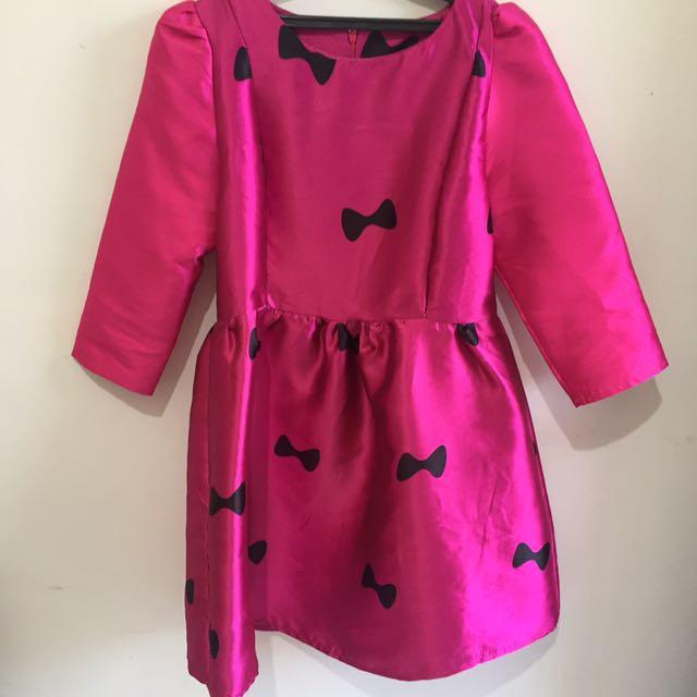 Shocking Pink Dress
