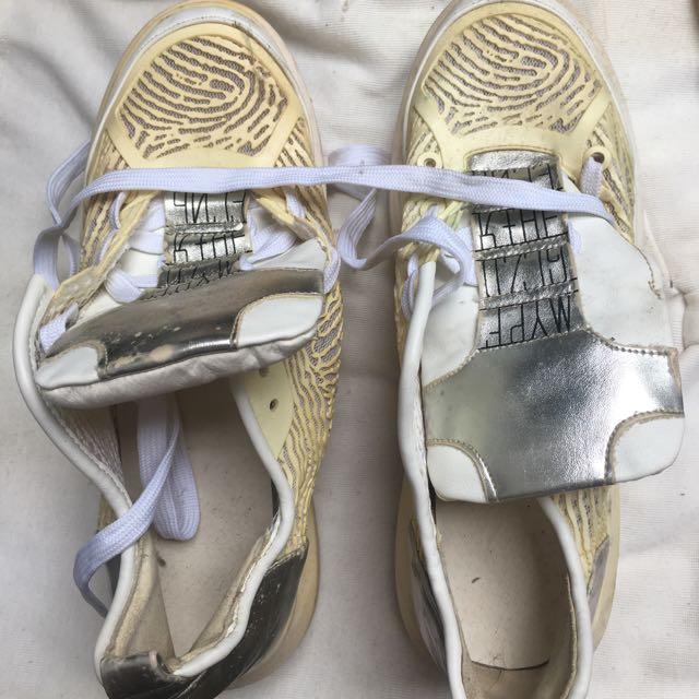 Something White Shoes (Korean Inspired)