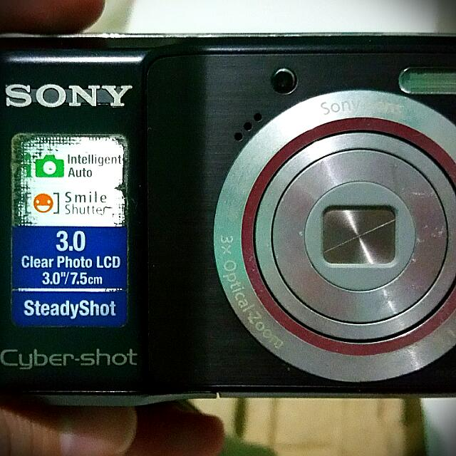 Defective SONY Cyber-shot