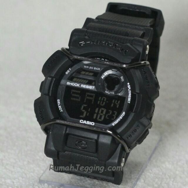 STOK TERBATAS..!! JAM TANGAN CASIO G-SHOCK GSHOCK GD-400 FULL BLACK BEST SELLER