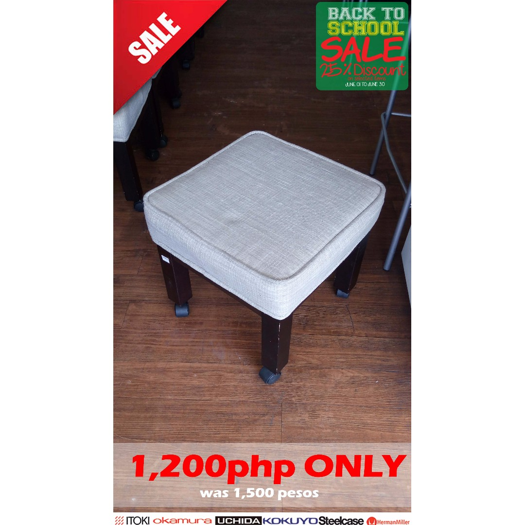 Stool or Footrest Stool- Made in Japan