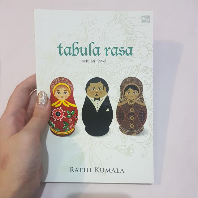 Tabula Rasa Novel- Ratih Kusuma