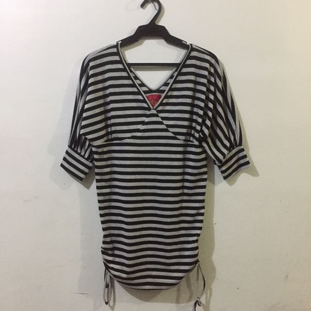 TBY STRIPES HALF SLEEVES