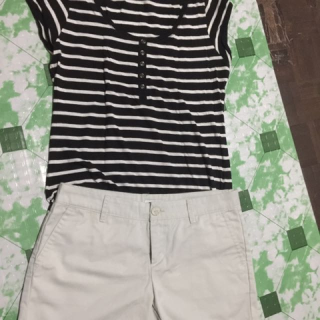Terranova T-shirt and Liz Claiborne Short -SET