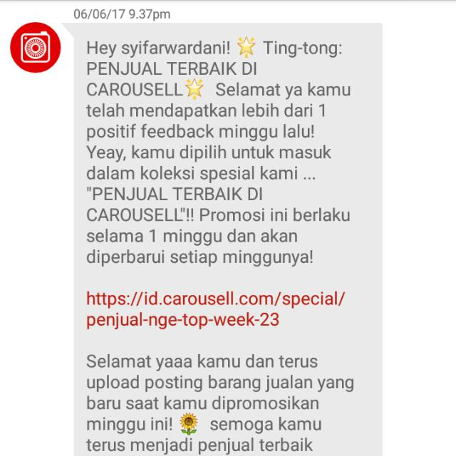 Thank you Carousell❤