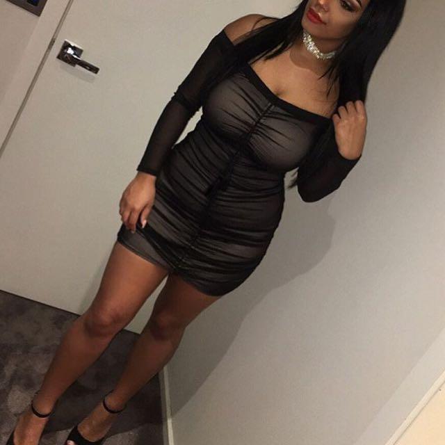 Tigermist 'Love rush' Dress in Black