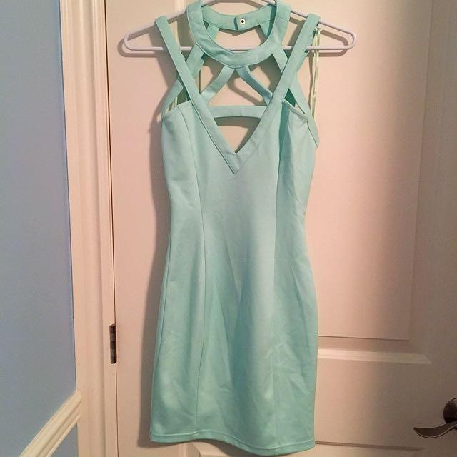 TOBI Cutout Bodycon Dress