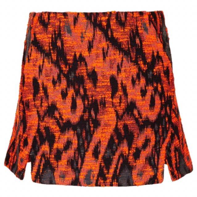Topshop Jacquard Skirt