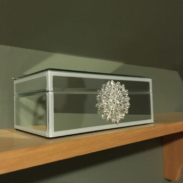 Two Mirrored Jewellery Boxes