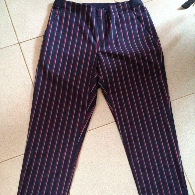 UNIQLO Striped Pants