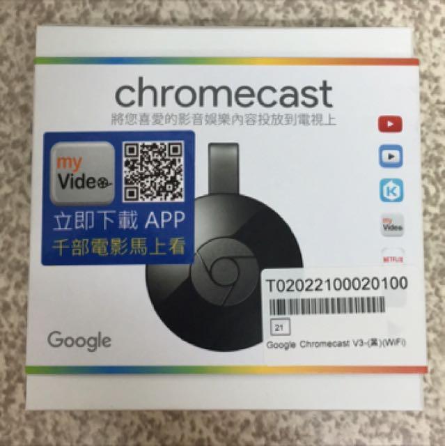 V3 Google Chromecast 2代