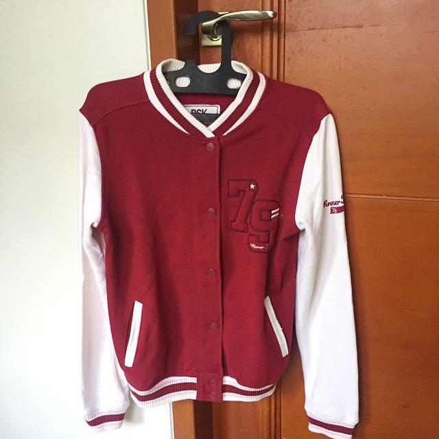 Varsity Jacket Outerwear Bershka Original
