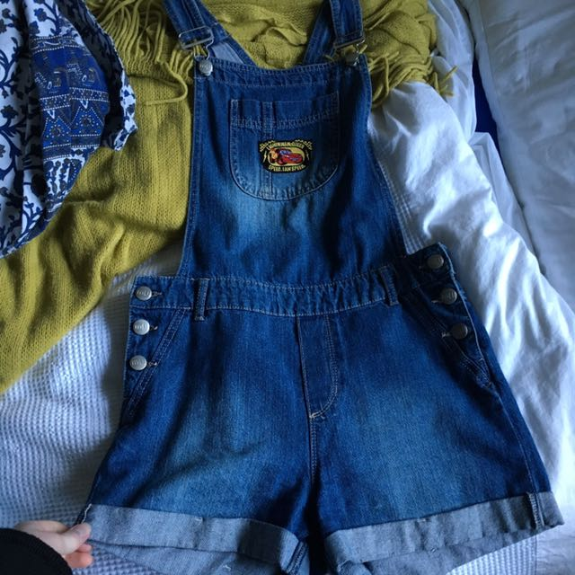 VINTAGE PATCH DUNGAREES
