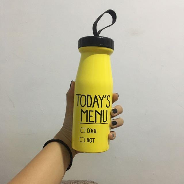 Water Bottle (Botol minum panas-dingin)