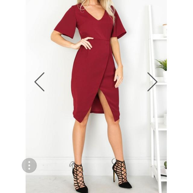 Wine Dress Size 12