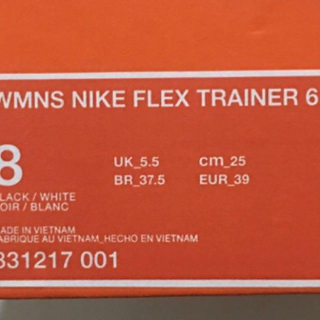 Women's Nike Flex Training 6 (Running Shoes)