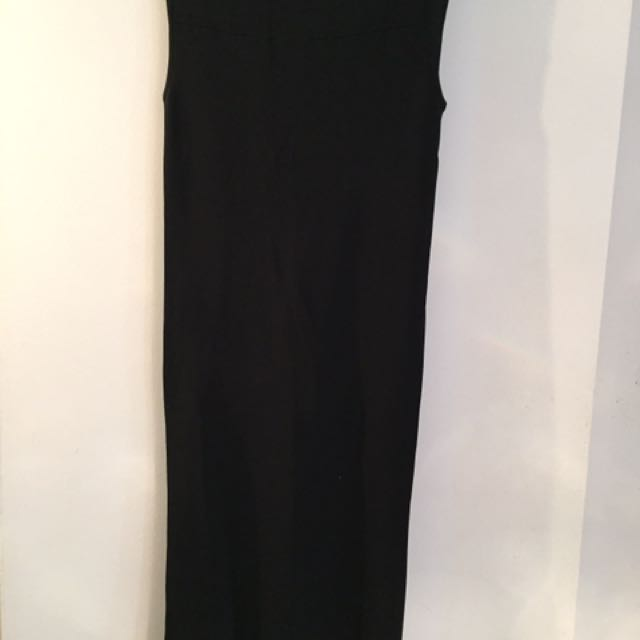 Zara Dress With Back Knots