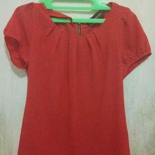 Baju Simple Orange
